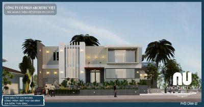 Biệt thự phong cách kiến trúc hiện đại