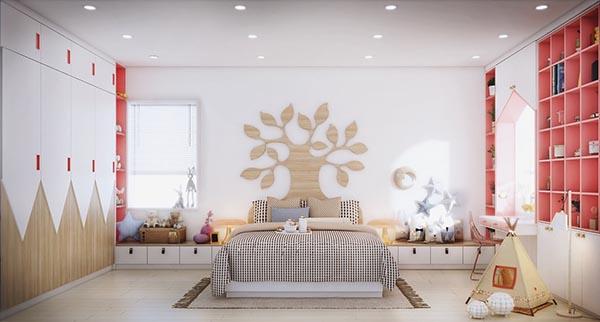 phòng ngủ đẹp dành cho con gái