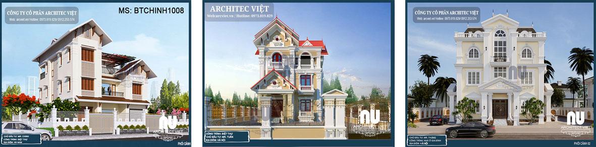 Bản vẽ thiết kế nhà 3 tầng đẹp
