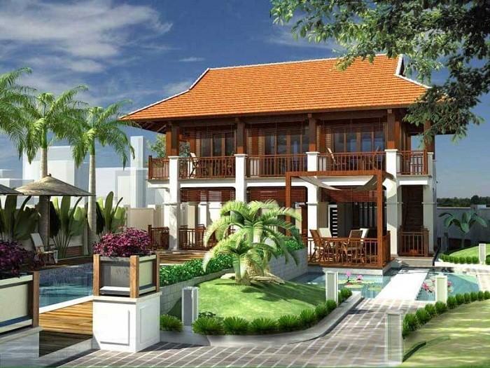 22+ Mẫu thiết kế nhà sàn bê tông Rẻ - Đẹp và chi phí Thiết kế - Xây dựng