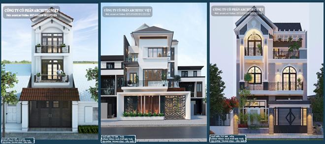 Mẫu nhà phố 3 tầng ấn tượng nhất 2019