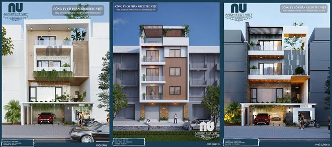 Căn nhà phố 4 tầng kiến trúc hiện đại đẳng cấp