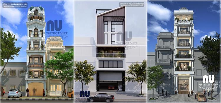 Các mẫu nhà phố 6 tầng đẹp nhất