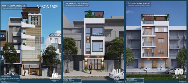 Dịch vụ thiết kế nhà phố hiện đại