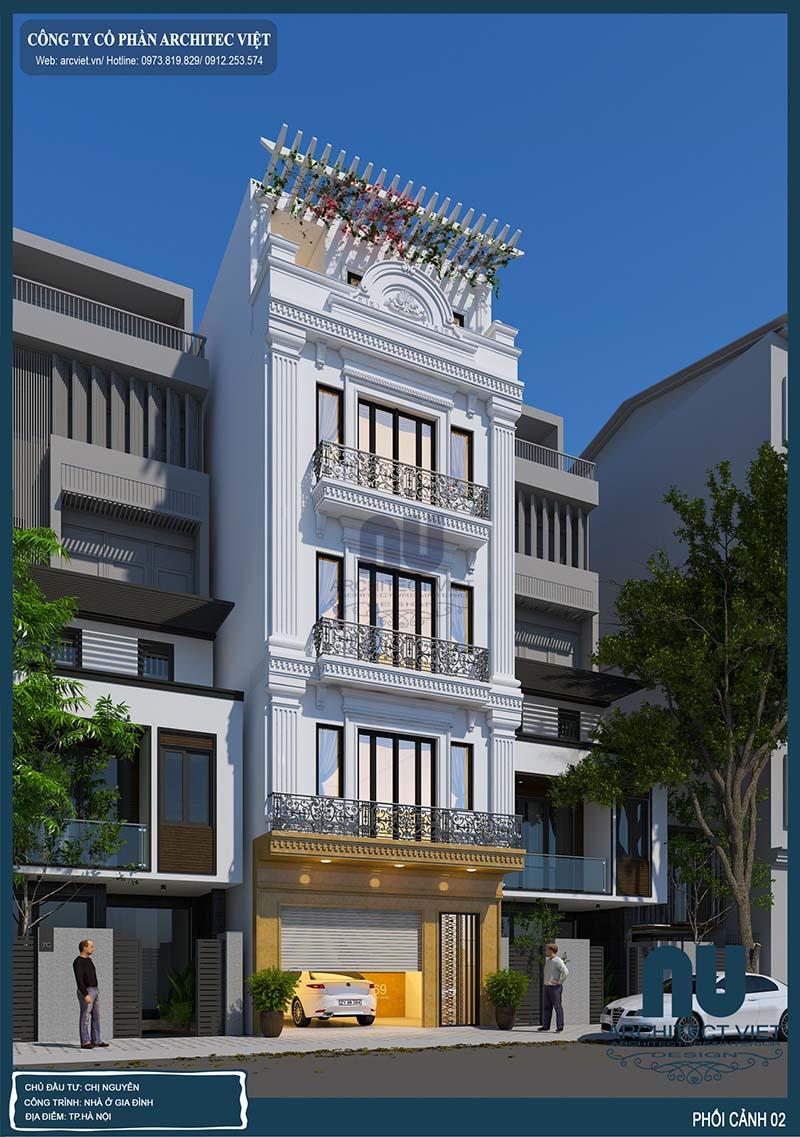 tư vấn thiết kế nhà phố đẹp
