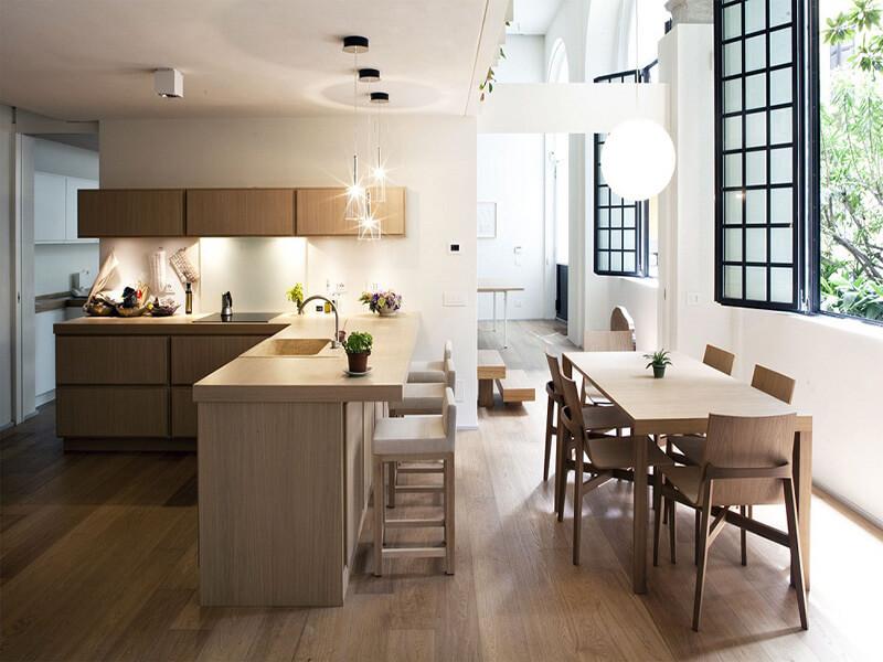 phòng bếp cần được bố trí sao cho hợp phong thủy