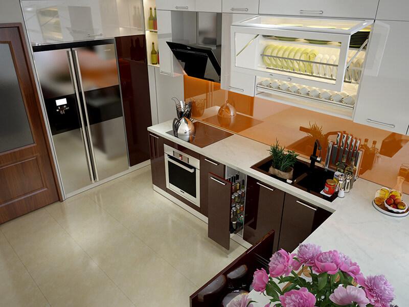 tư vấn thiết kế phòng bếp mang đến sự ấm cúng và tài lộc