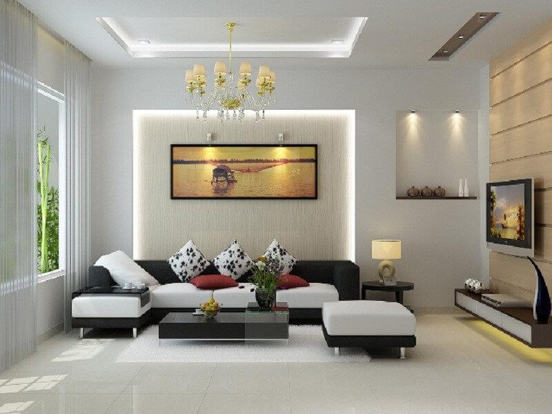 vì sao nên chọn màu sơn phù hợp với phòng khách hiện đại