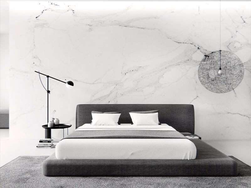 mẫu phòng ngủ tối giản không có quá nhiều nội thất