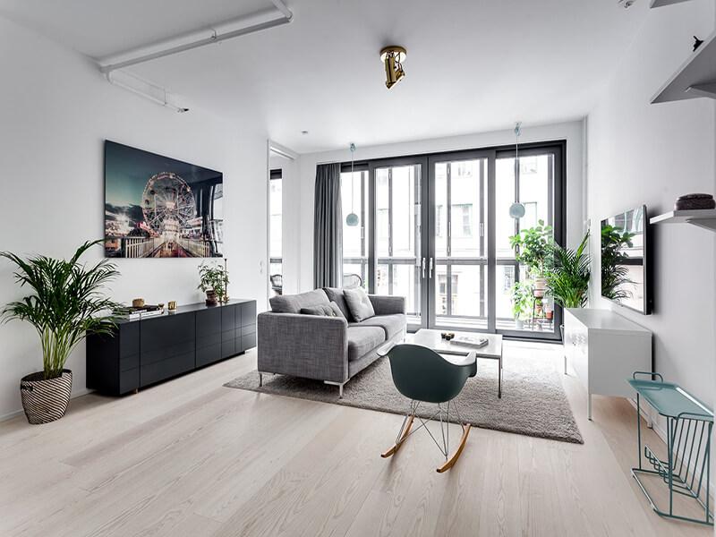 bố trí nội thất nhà theo phong cách tối giản