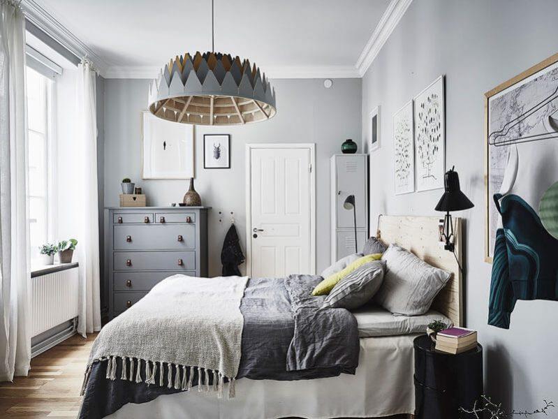 mẫu phòng ngủ phong cách Scandinavian đẹp mê hồn