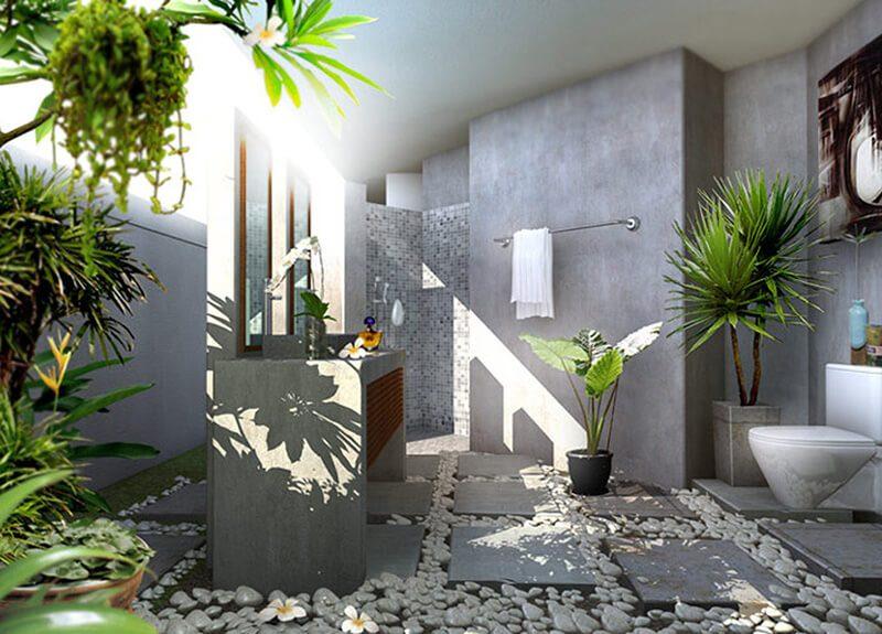mẫu phòng tắm thiên nhiên đẹp miễn chê