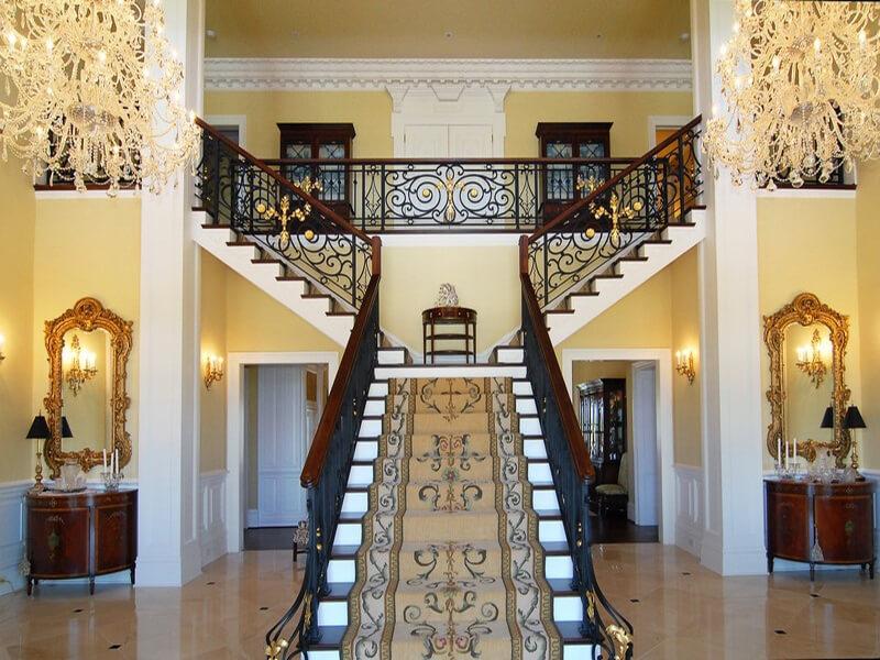 thiết kế cầu thang hài hòa phong thủy mang đến nhiều tài lộc và may mắn