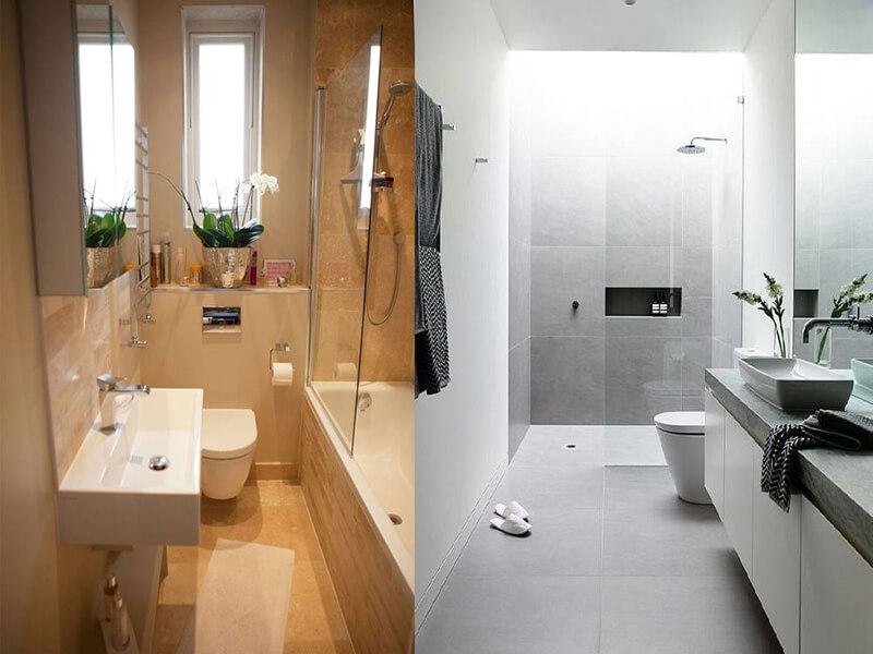 ánh sáng và màu sắc là 2 yếu tố quyết định đến 50% vẻ đẹp của 1 nhà tắm
