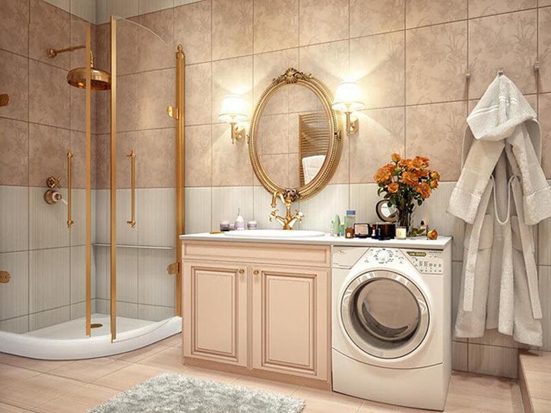 xu hướng thiết kế phòng tắm theo phong cách vintage thu hút