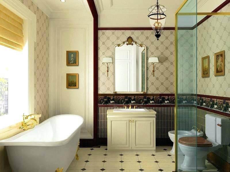 đẹp miễn chê với mẫu nhà tắm kiểu Pháp