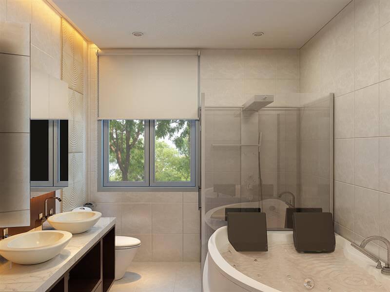 việc tìm hiểu phong cách, màu sắc sẽ giúp gia chủ thiết kế phòng tắm hài hòa