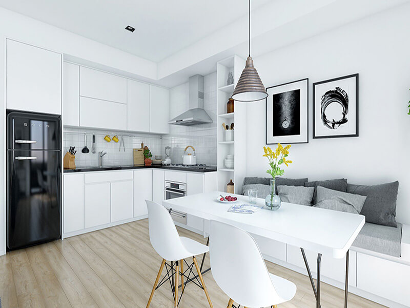 mẫu nhà bếp thiết kế theo phong cách hiên đại