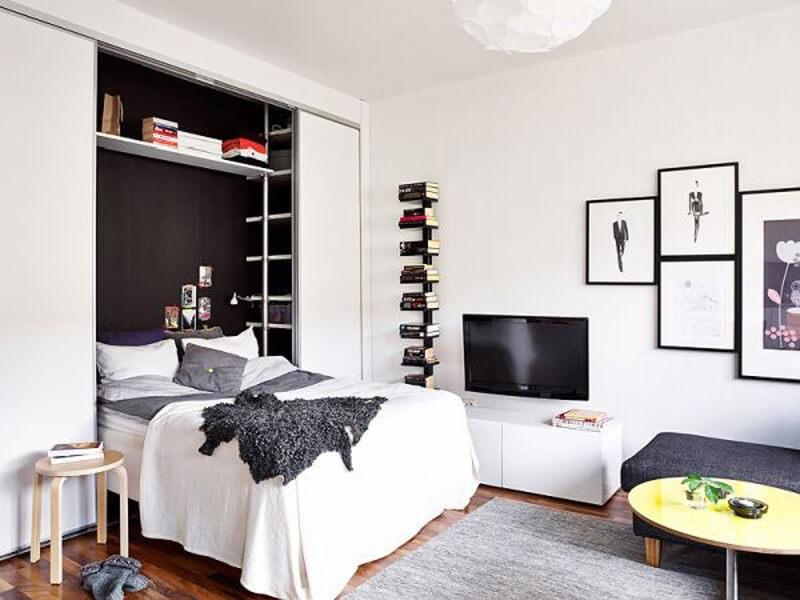 các mẫu nội thất đa năng phù hợp với các không gian phòng ngủ nhỏ