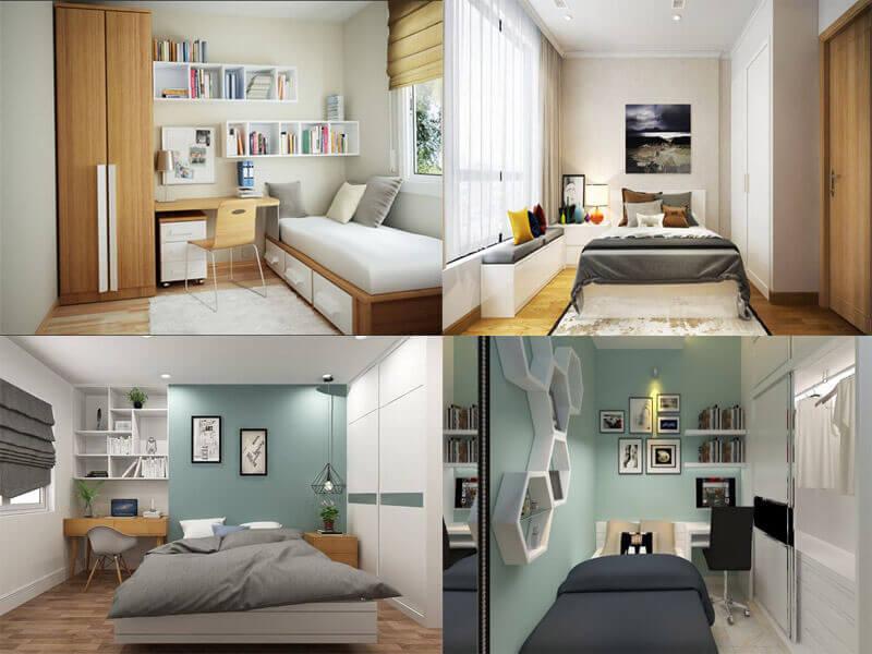mỗi mẫu giường ngủ sẽ phù hợp với không gian khác nhau