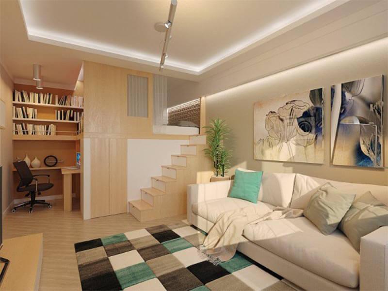 Bố trí nội thất thông minh cho không gian phòng khách hài hòa
