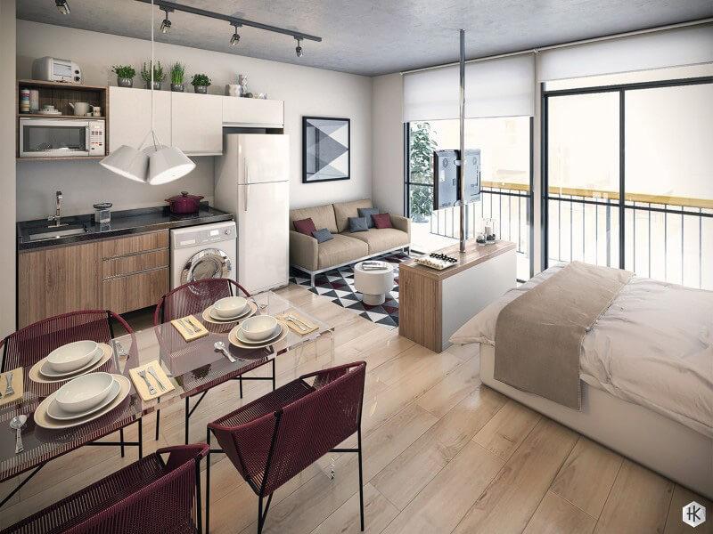 Mẫu nội thất thông minh cho không gian nhà bếp