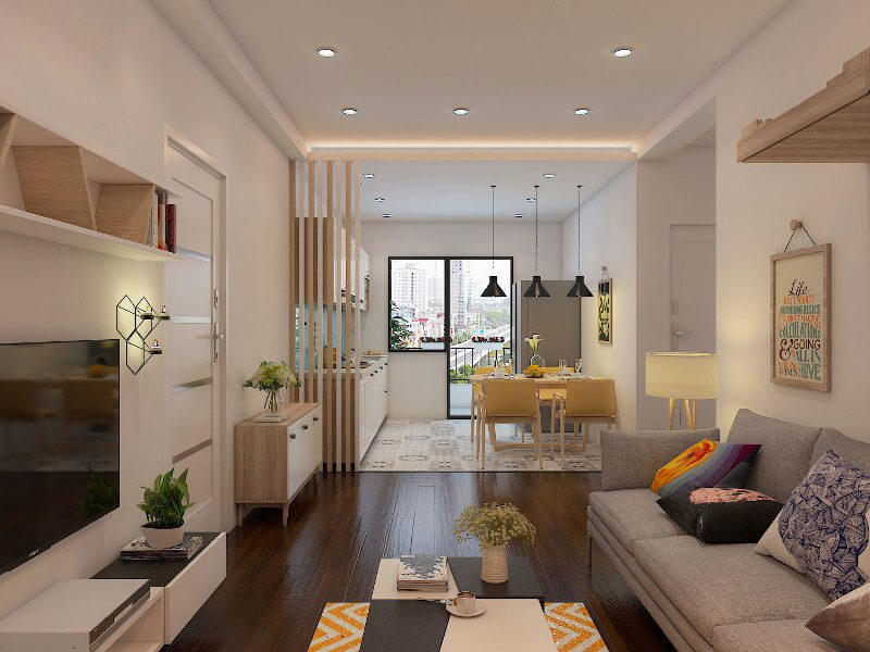 Cách bố trí nội thất đa năng giúp không gian sống thêm phần rộng rãi, thông thoáng