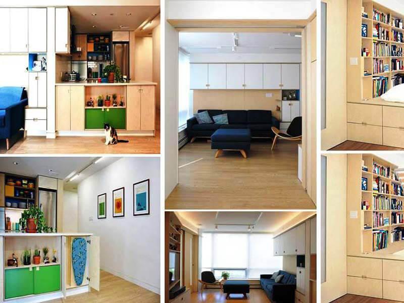 Bố trí nội thất thông minh tiết kiệm không gian cho nhà nhỏ
