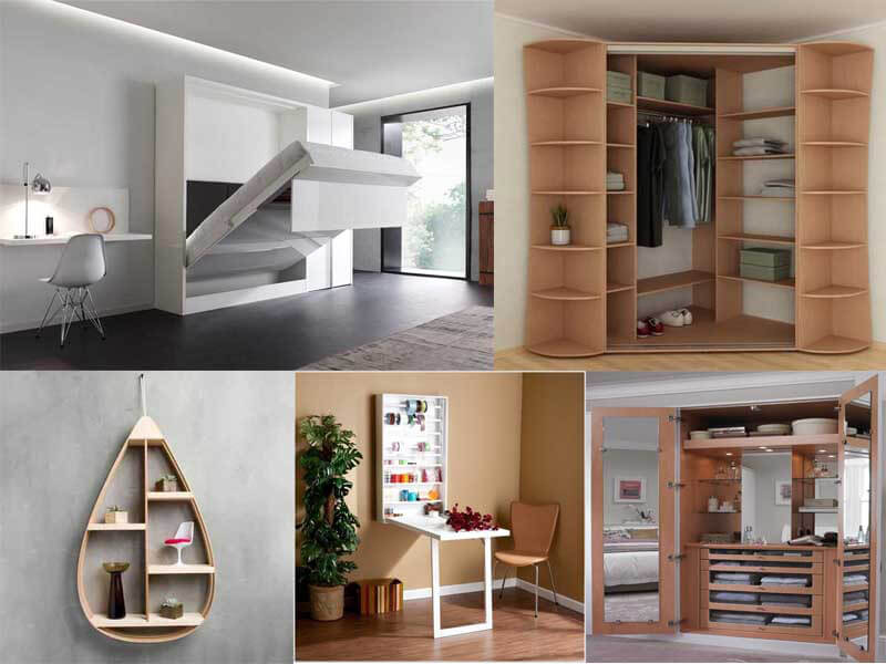 bố trí nội thất thông minh cho căn hộ nhỏ