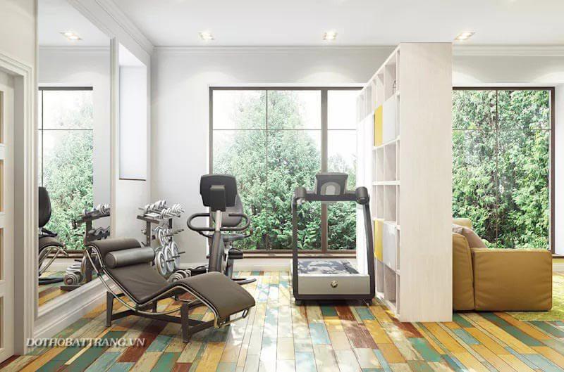 Thiết kế phòng tập Gym tại nhà