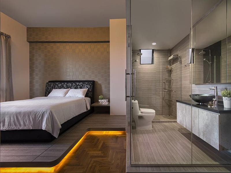 tư vấn bố trí nhà vệ sinh trong phòng ngủ hợp phong thủy