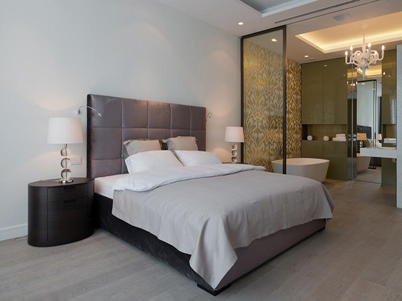 tư vấn thiết kế nhà vệ sinh phù hợp trong phòng ngủ