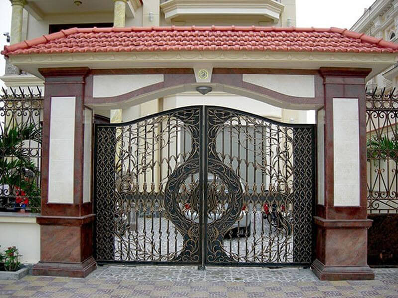 những điều cần biết về kiêng kỵ khi làm cổng nhà