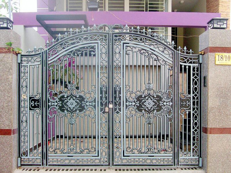 cổng nhà không nên thiết kế quá kín