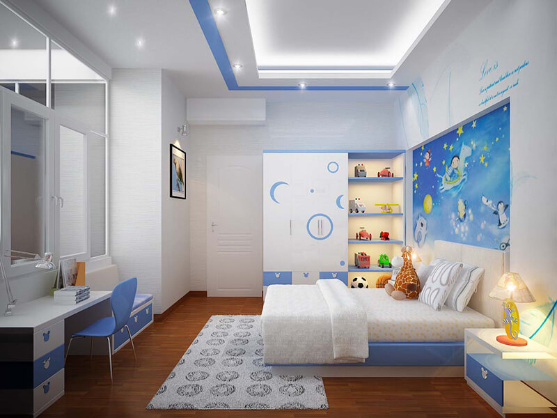 cách trang trí phòng ngủ cho trẻ