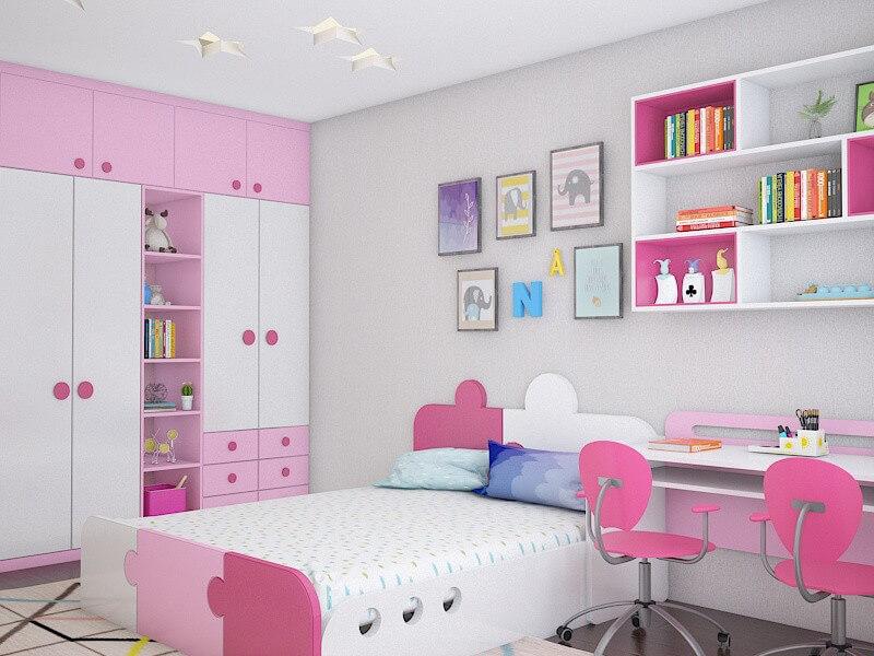 hướng dẫn cách thiết kế nội thất phòng ngủ trẻ em