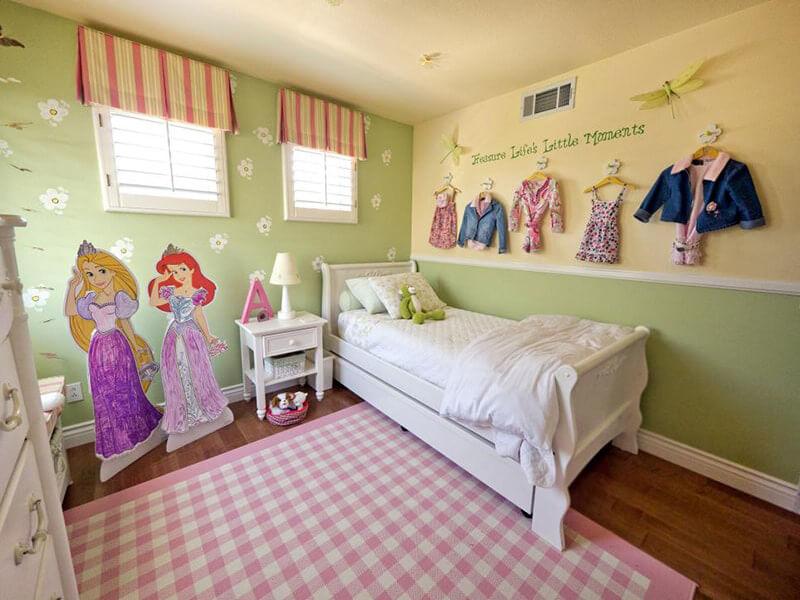 lưu ý khi trang trí phòng ngủ cho trẻ