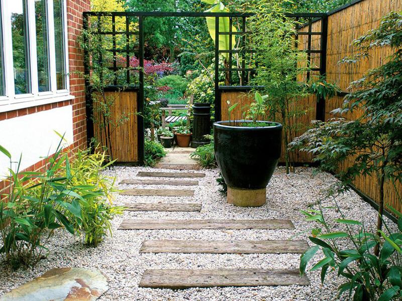 mẫu sân vườn mang đặc trưng phong cách Nhật