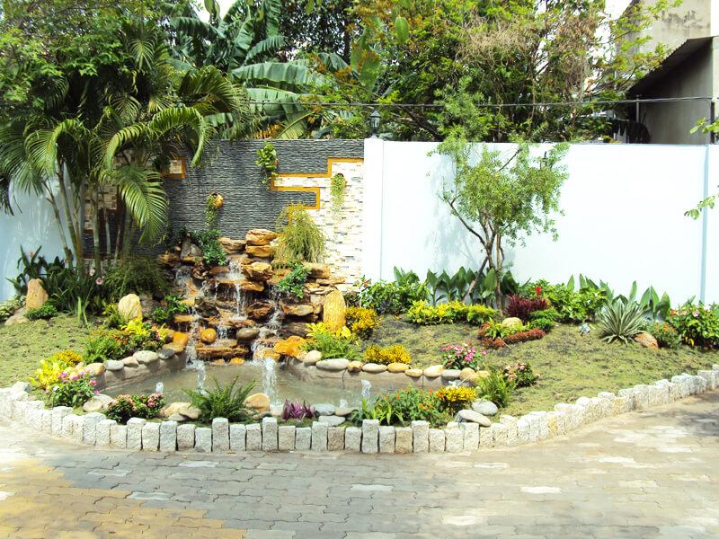 trang trí sân vườn đẹp chinh phục mọi ánh nhìn