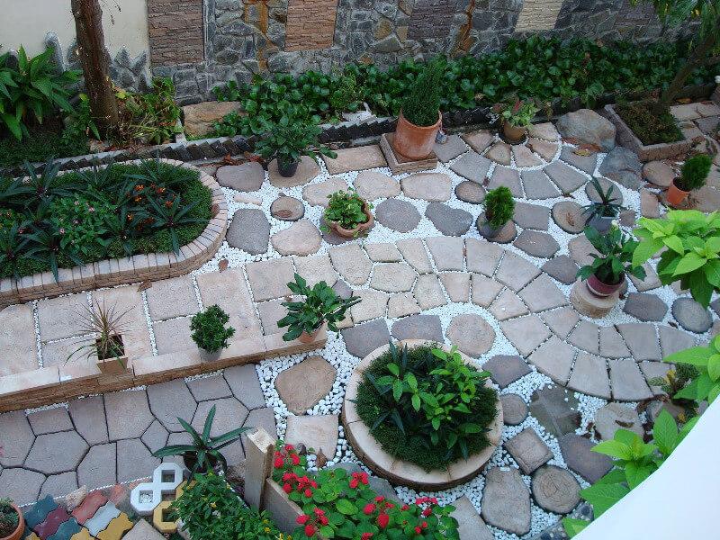 trang trí sân vườn đẹp miễn chê cho không gian