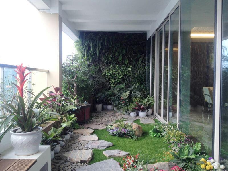 lưu ý khi thiết kế sân vườn, tiểu cảnh tại nhà