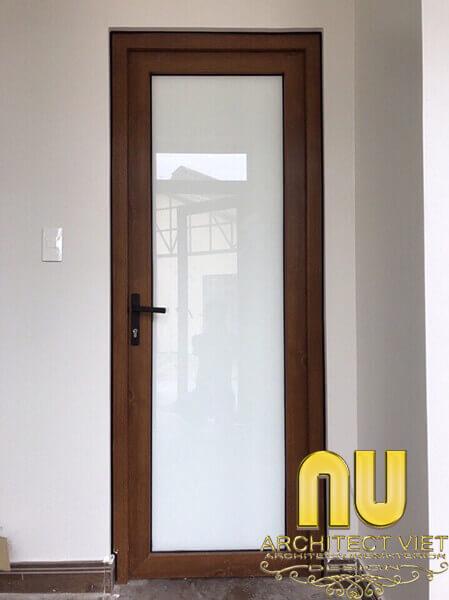 ngoại thất nhà đẹp với cửa