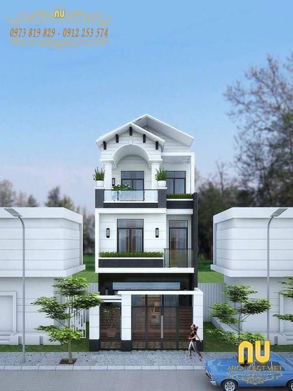 Thiết kế cổng chính phù hợp với diện tích nhà ở