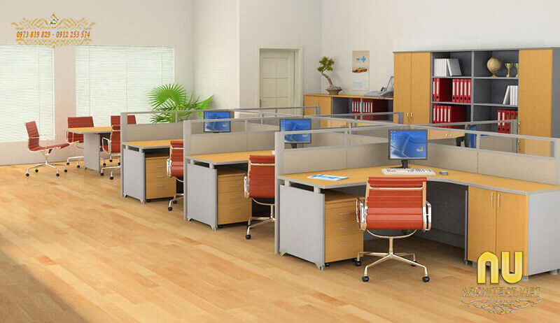 nội thất văn phòng hợp lý cho từng không gian