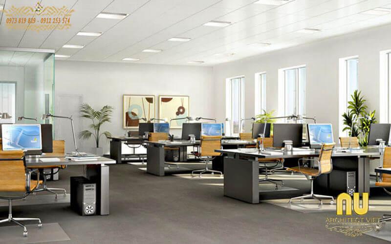lựa chọn Màu săc hợp lý cho nội thất văn phòng đẹp