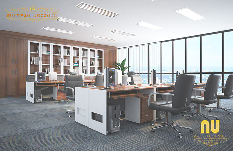 thiết kế nội thất văn phòng đảm bảo các quy luật ngũ hành