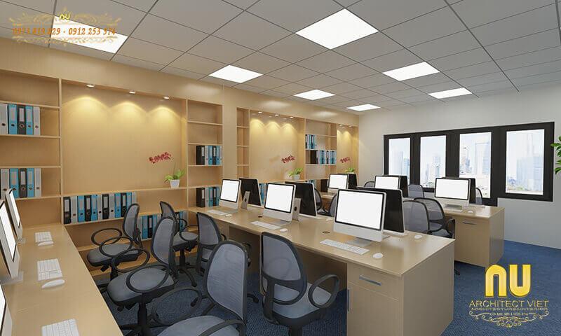 nguồn sáng hợp lý cho văn phòng bằng hệ thống điện chiếu sáng