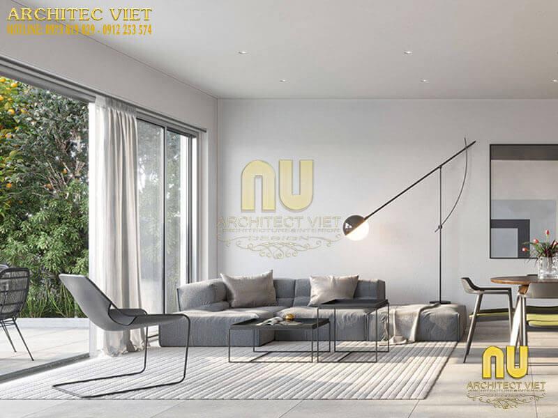 nét đẹp đơn giản, tiện nghi trong phòng khách