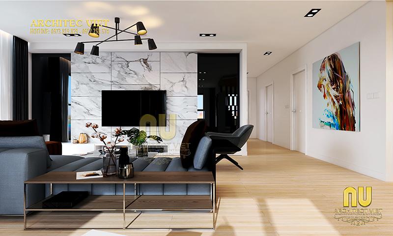 Đồ nội thất tối giản phù hợp cho không gian phòng khách hiện đại