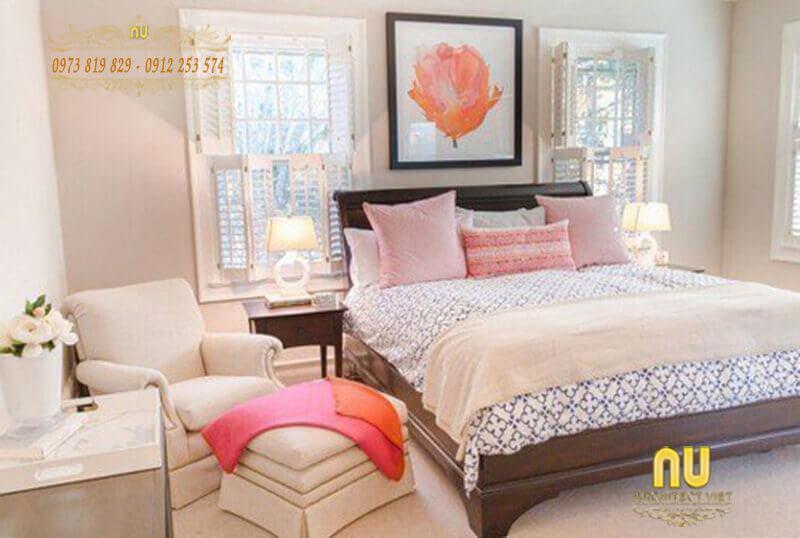 đảm bảo phòng ngủ gọn gàng, sạch sẽ và ngăn nắp nhất có thể